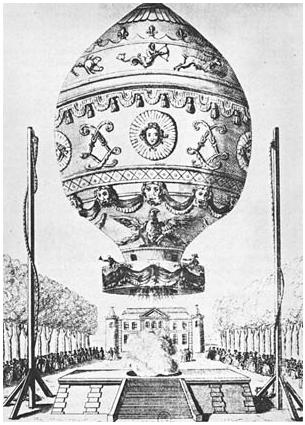 pirmasis skrydis balionu