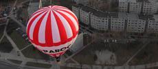 Romantiskas skrydis oro balionu